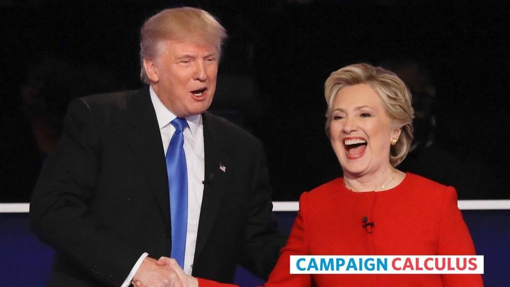 Trump and Clinton Punch at Other's Weak Spots