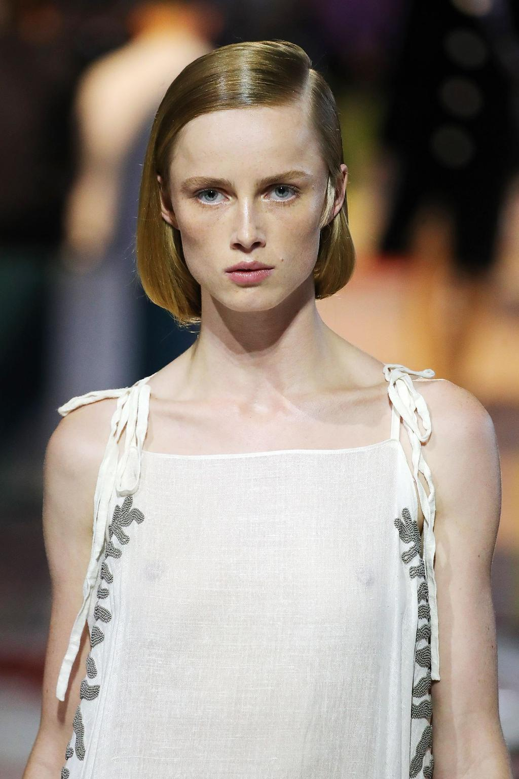 Spring 2020 Hair Trends.Everything To Know About Prada S Spring Summer 2020 Hair And