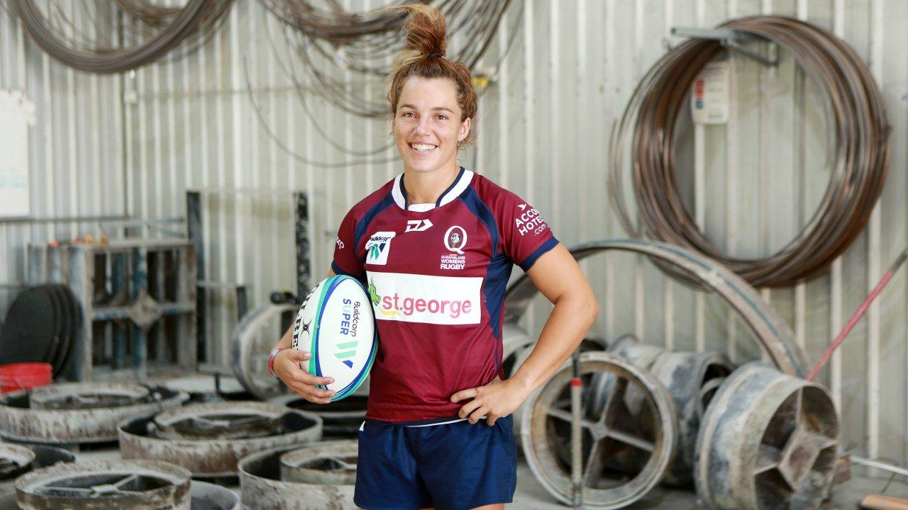 Sport has taken Queensland Rugby player Lori Cramer to many countries. Picture: Sarah Marshall/AAP