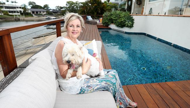 """<a href=""""https://www.realestate.com.au/property-house-qld-bundall-126791054"""" target=""""_blank"""">Joanne Wheeler is selling her Bundall home after 15 years. Photo by Richard Gosling</a>"""