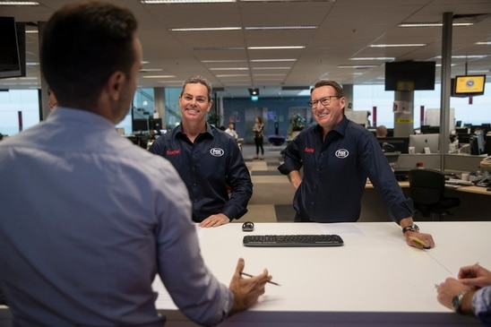 Mark Skaife and Craig Lowndes Guest Edit The Advertiser