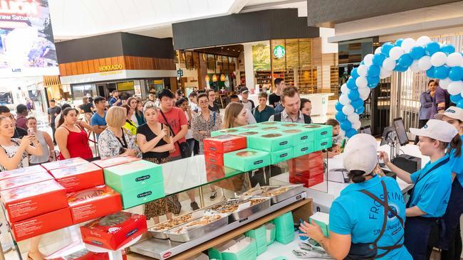 'Dreams come true': US chain arrives in Melbourne