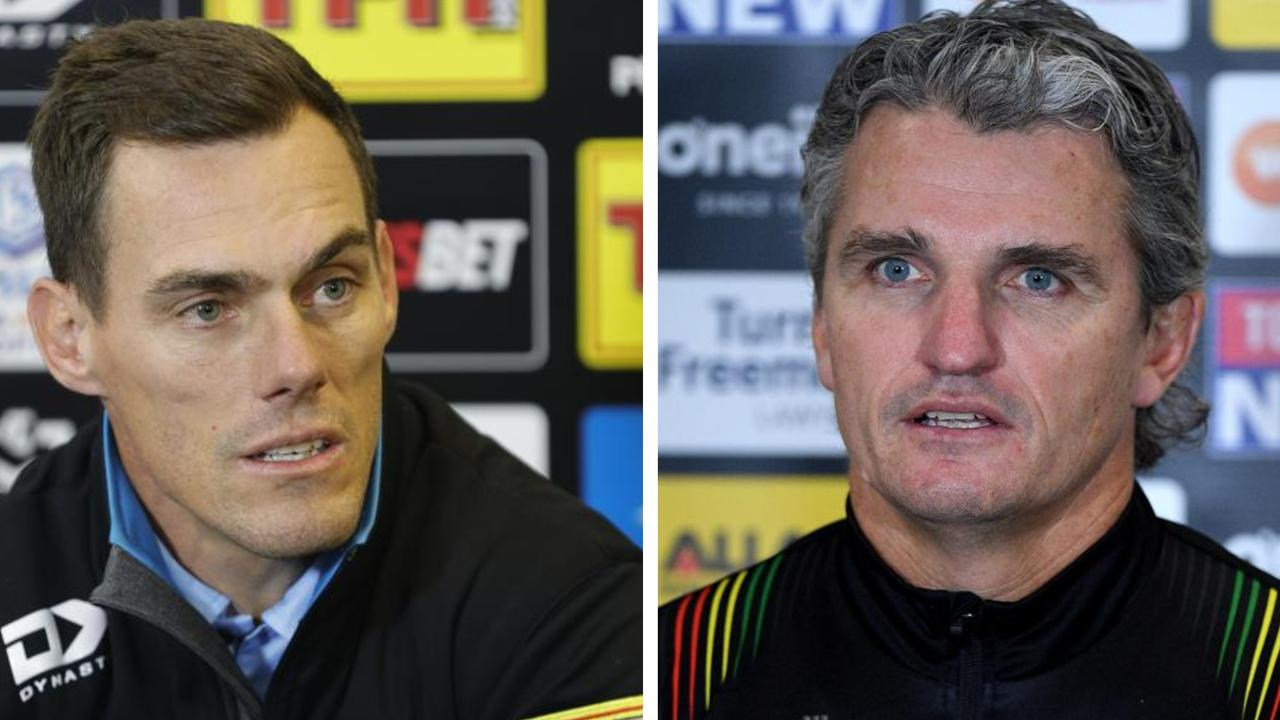 John Morris and Ivan Cleary questioned some decisions made by referees.