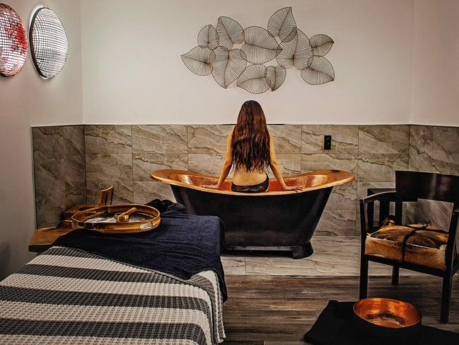 ALBURY, NSW, $395 Get romantic and book a two-night spa getaway at Circa 1928 in Albury and get a couple's day spa experience worth $435. Pay from $395 a night for a minimum to nights (a total of $790) and indulge in boutique accommodation with butler service and a spa package that includes a 90-minute couple's spa treatment with a foot ritual, body massage and choice of body exfoliation or facial plus a glass of wine and grazing platter to finish. Valid for stays until March 31, 2020, excluding Sundays. For details click HERE.