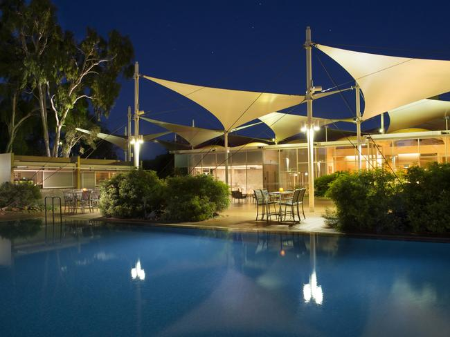 STAYING THERE Ayers Rock Resort, 15km from Uluru, is an ideal home base for anyone looking to connect with Australia's spiritual heart. From Ayers Rock Campground to the up-market Sails in the Desert Hotel, there's a range of accommodation options to suit any budget.
