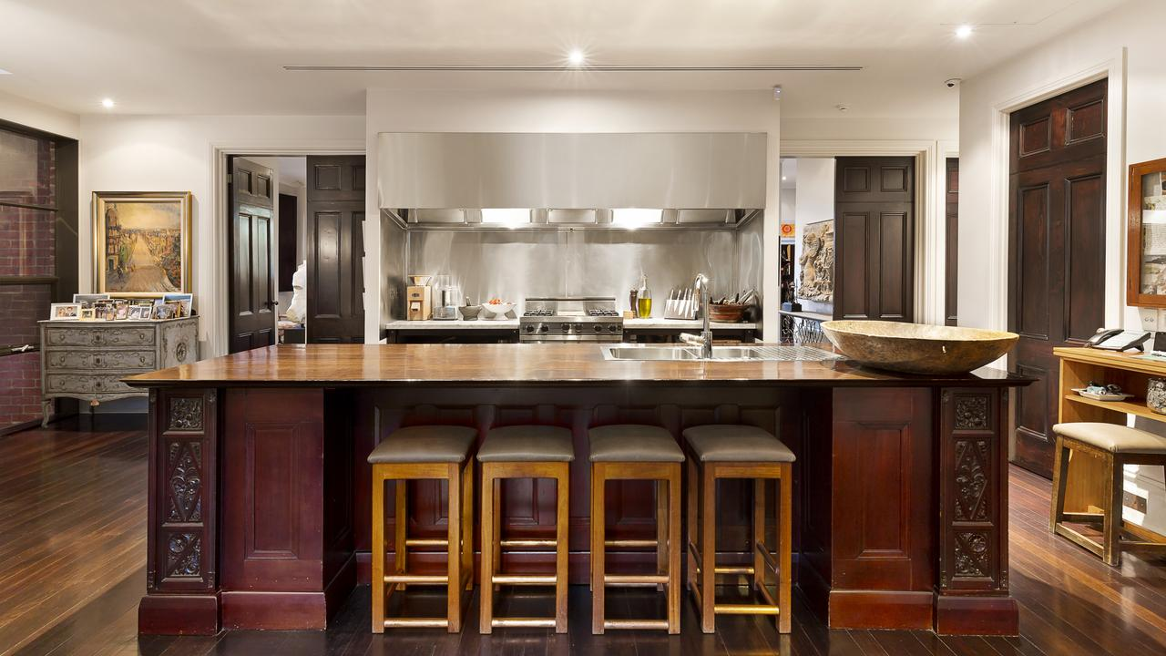 A big kitchen perfect for entertaining.