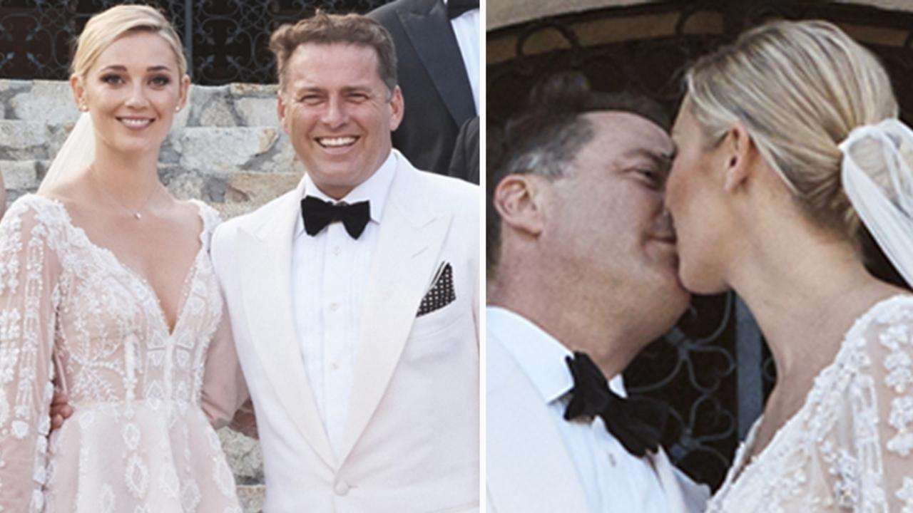 Cassandra Thorburn attacked her ex Karl Stefanovic's lavish wedding to Jasmine Yarbrough in Mexico. Picture: Supplied