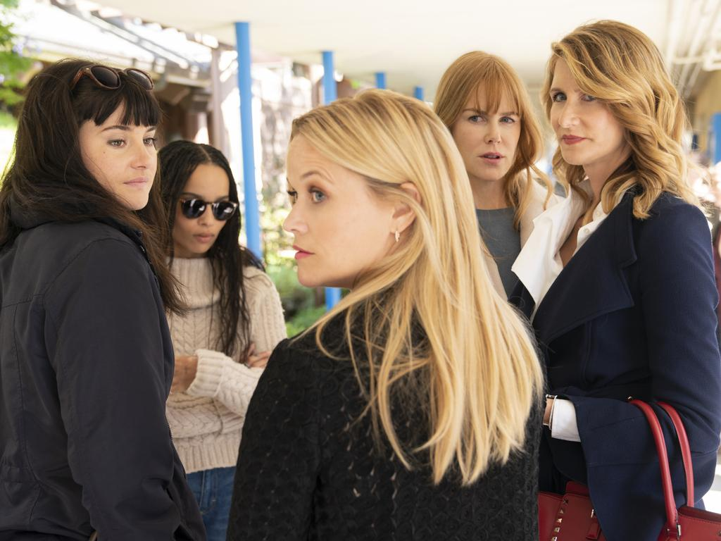 Big Little Lies is set to return to Foxtel for a second series next month. Picture: Foxtel/HBO