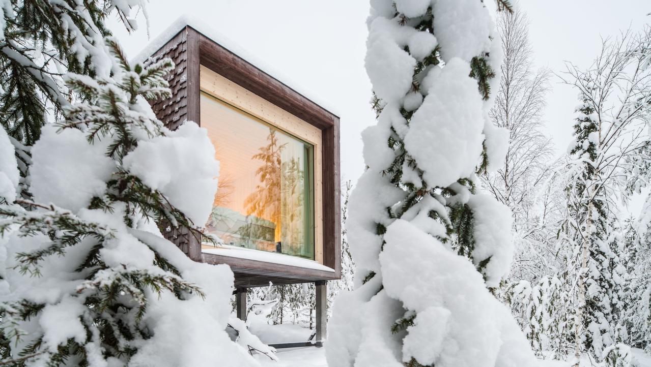 ESCAPE: Christmas in Finland, December 10 - Rovaniemi, Finland - Arctic TreeHouse Hotel, Rovaniemi, Finland. Picture: Supplied
