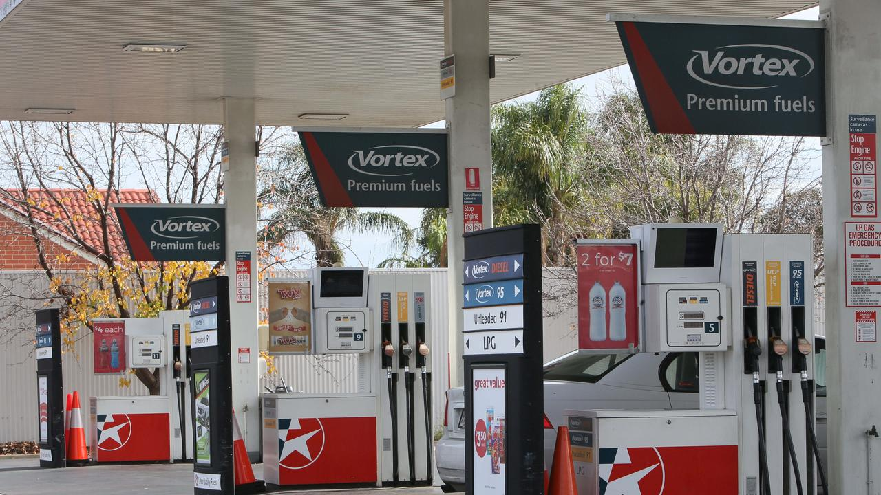 RACQ's fuel tracker found 23 Brisbane service stations selling fuel at $1.779 a litre on Tuesday. Picture: NCA NewsWire / Emma Brasier