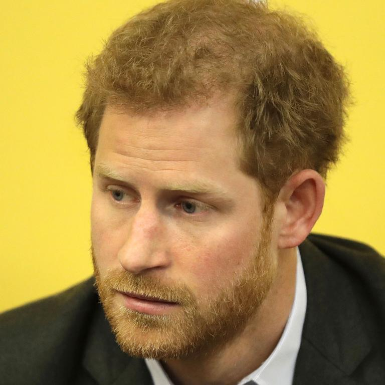 In 2017, Prince Harry said he didn't think 'any child should be asked to do that, under any circumstances'. Picture: Matt Dunham/AFP