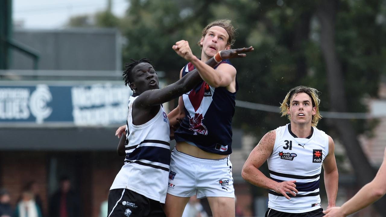 Jacob Edwards is set to be an early selection in the mid-season rookie draft. Photo: Steve Tanner