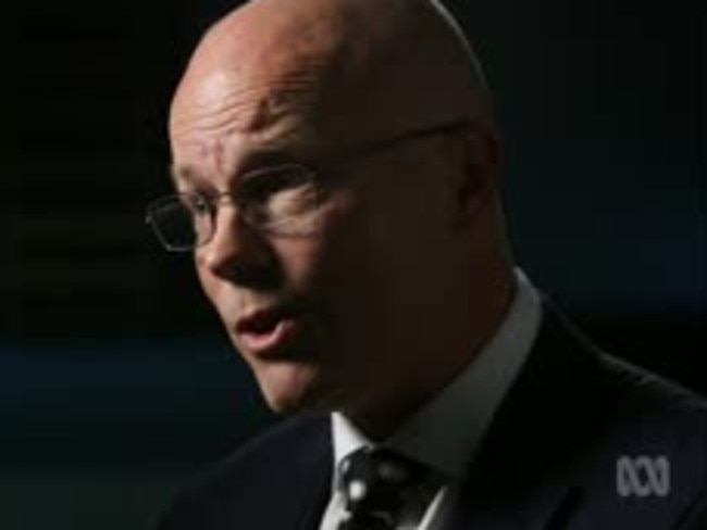 Alastair MacGibbon talks about Australia's cyber security. Picture: ABC