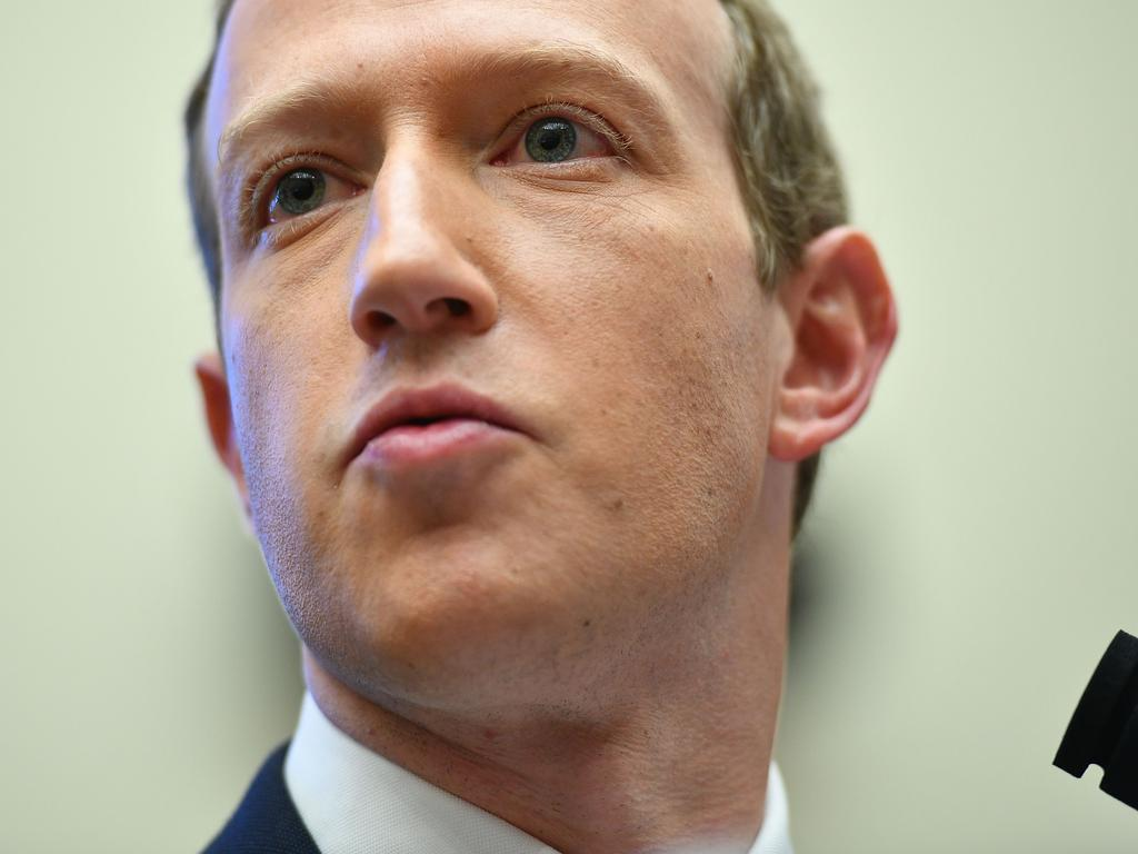 Mark Zuckerberg has lobbied the Australian government directly over the proposal. Picture: Mandel Ngan/AFP