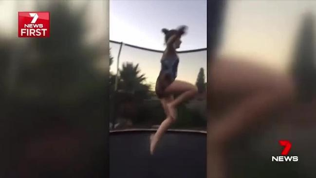 Teen paralysed after failed trampoline flip causes multiple spinal fractures
