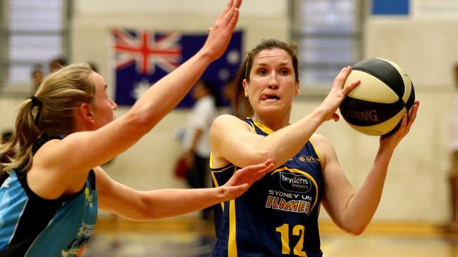 Belinda Snell rejoined the Flames at the start of the season.