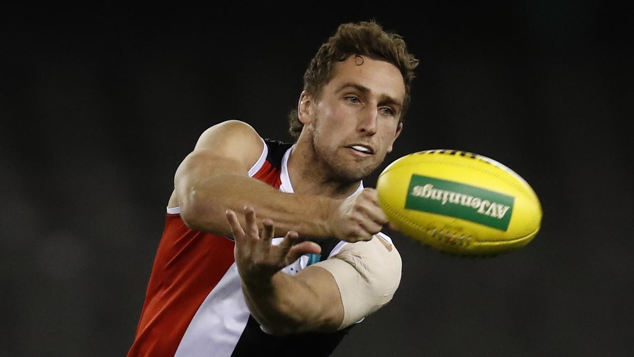 Luke Dunstan could make Melbourne's midfield somehow even better. (Photo by Darrian Traynor/Getty Images)