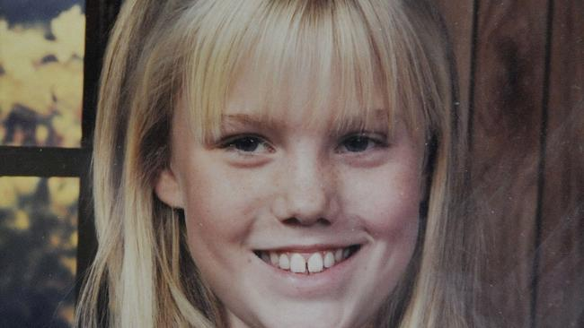 Jaycee Lee Dugard when she was a young girl. Now 36, she has spoken out about being a single mum to daughters fathered by her kidnapper.