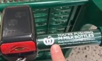 Woolies shopper finds 'gamechanger' on trolley