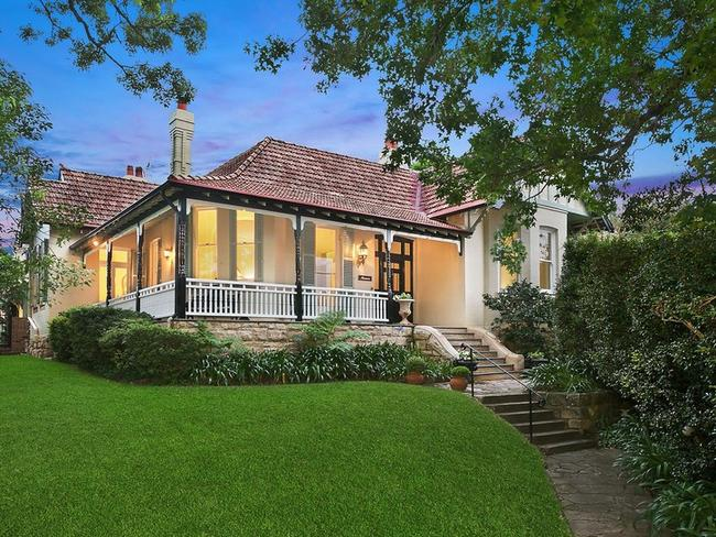 This house in Longueville also smashed its reserve on the last weekend in February, selling at $1.5m above for $5.05m. Picture: realestate.com.au.