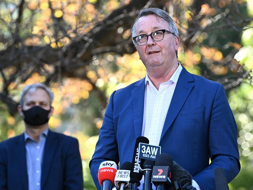 Victoria's Health Minister Martin Foley. Picture: Quinn Rooney/Getty Images