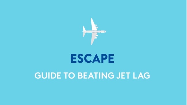 GUIDE TO BEATING JET LAG