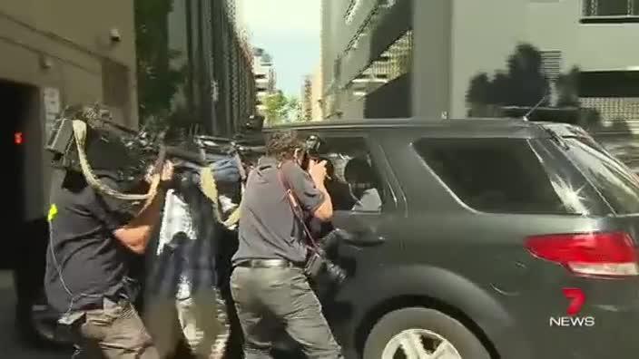 Doncaster suspect arrives police HQ