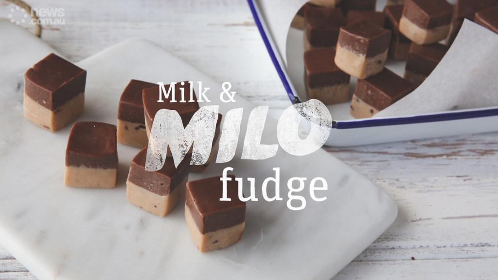 Milo & Milk Fudge by Tristan Lutze