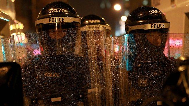 Belfast protests