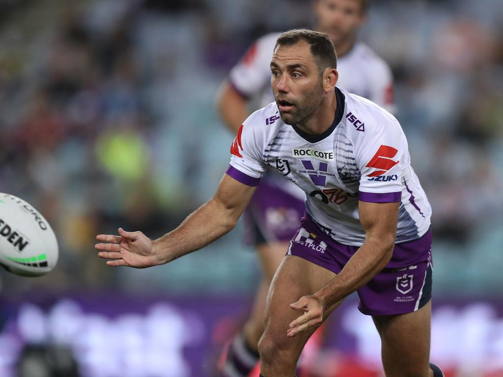 Smith played his entire career with the Storm and is the only player in history to reach 400 NRL games. Picture: Brett Costello