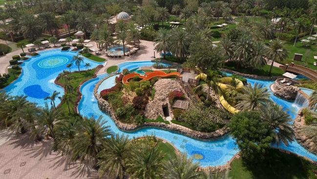 The water park is accessible to all guests.