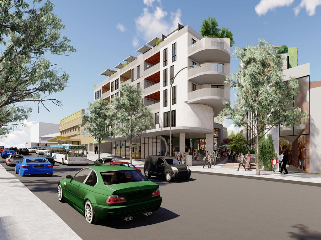 Artist's impressions of the Robin Hood redevelopment.