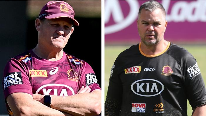 Kevin Walters vs Anthony Seibold.