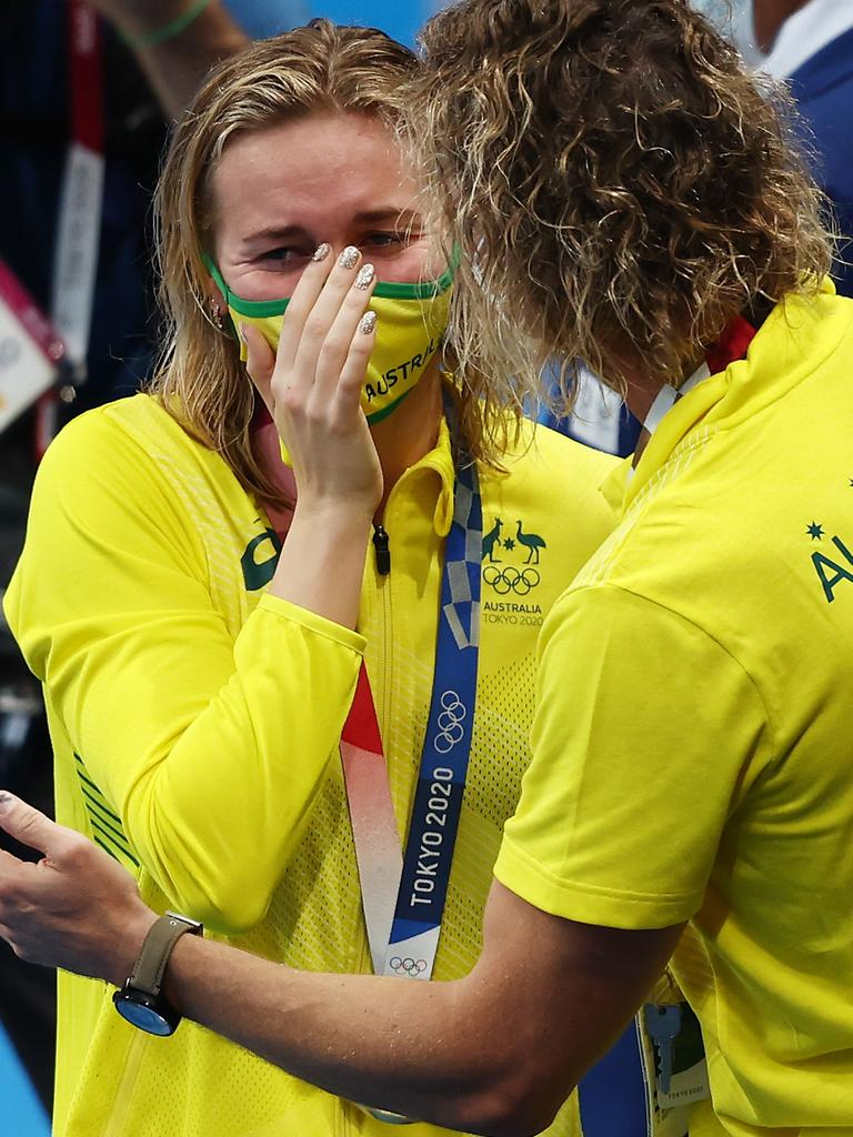 Ariarne Titmus and Dean Boxall shocked the world.
