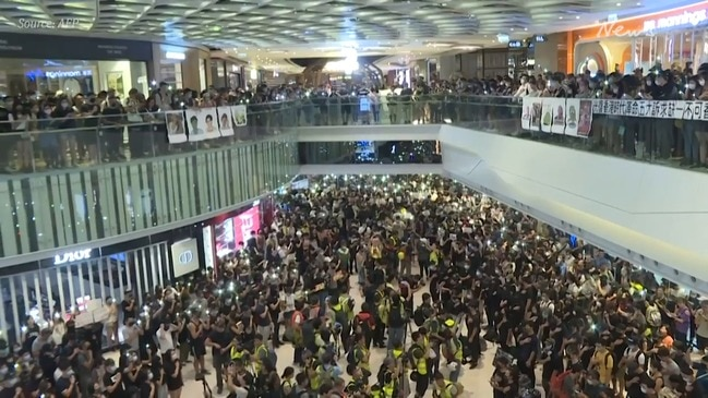 Hong Kong: Protesters mark two-month anniversary of mob attack
