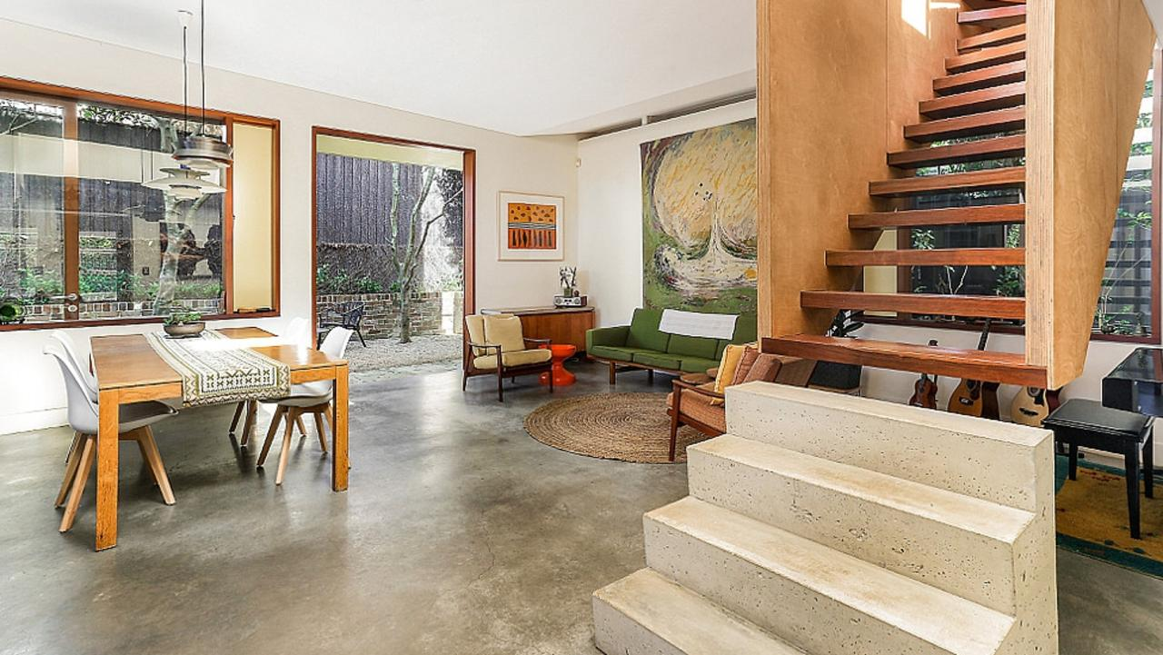 Buyers loved the Sam Crawford design — including the unusual staircase.