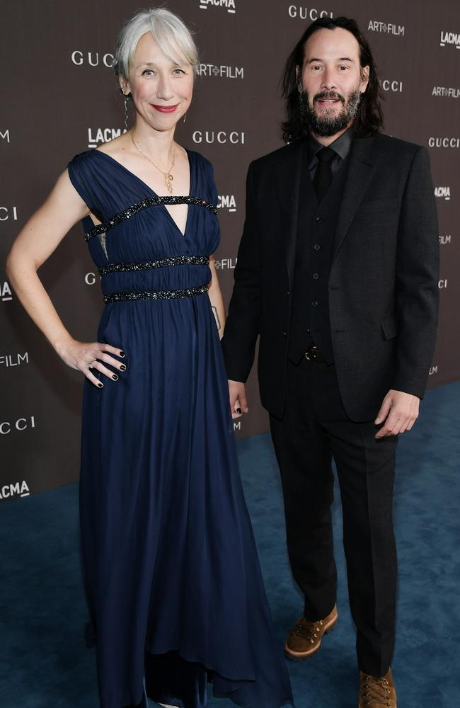 Their surprise red carpet debut made headlines. Picture: Neilson Barnard/Getty Images for LACMA