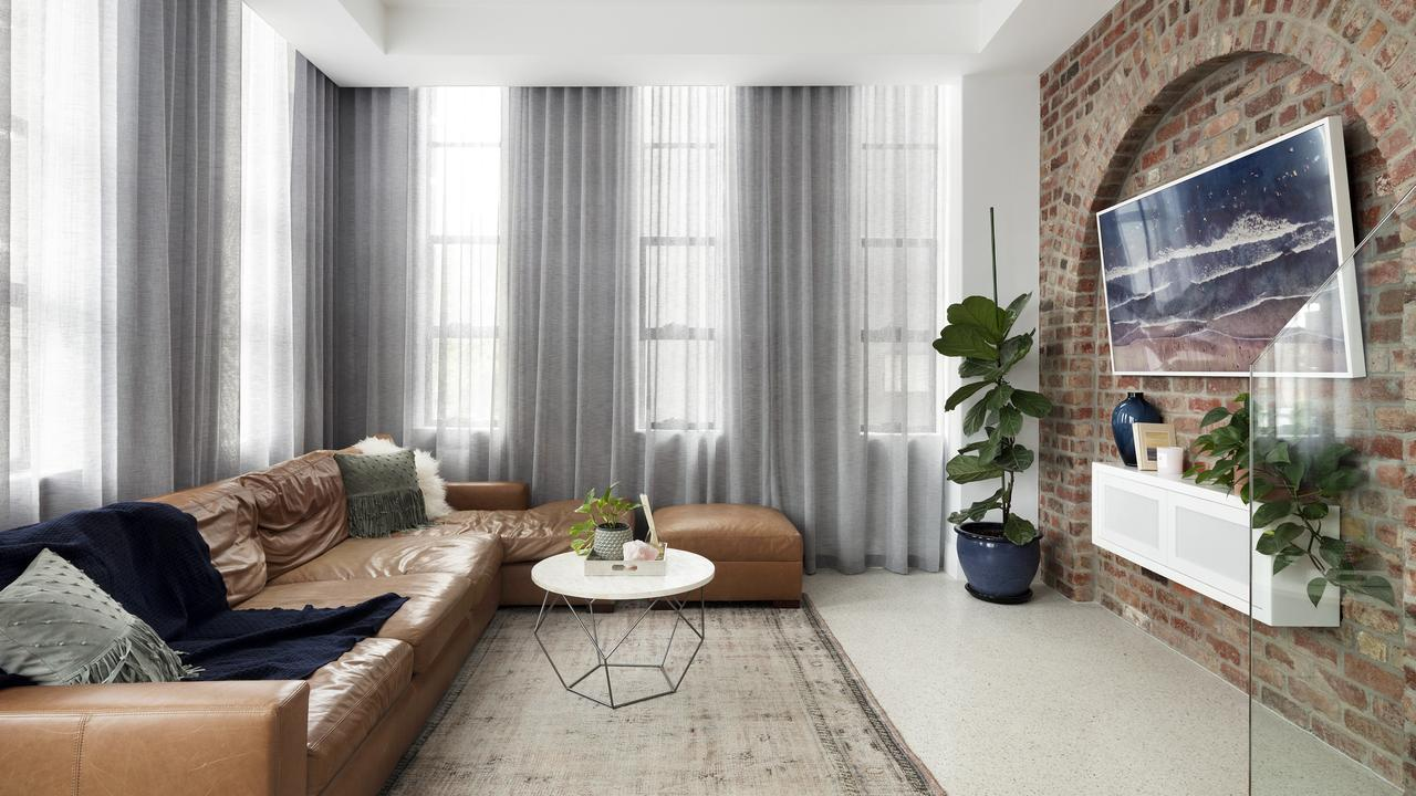 Exposed brickwork adds an extra cool factor.