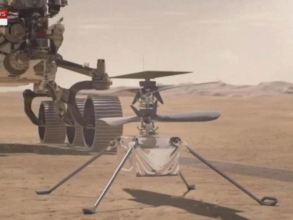 The Mars drone helicopter has made its historic first flight.