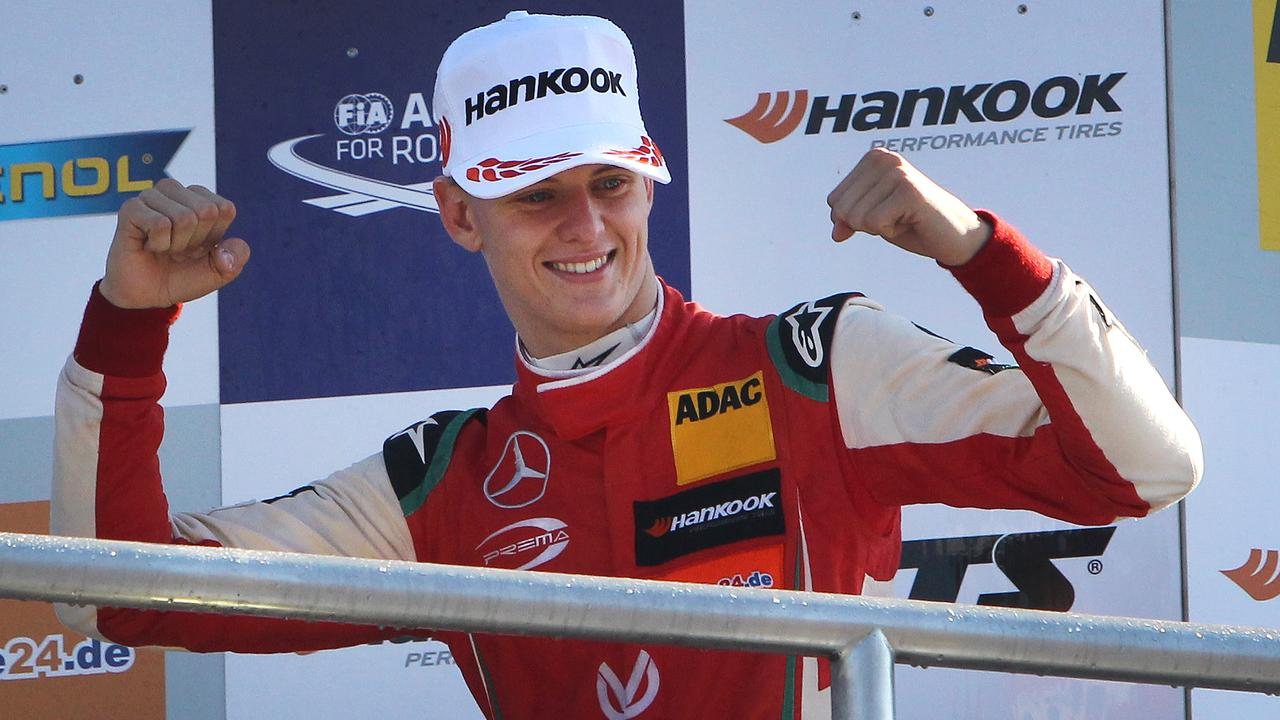 Mick Schumacher is a star on the rise.