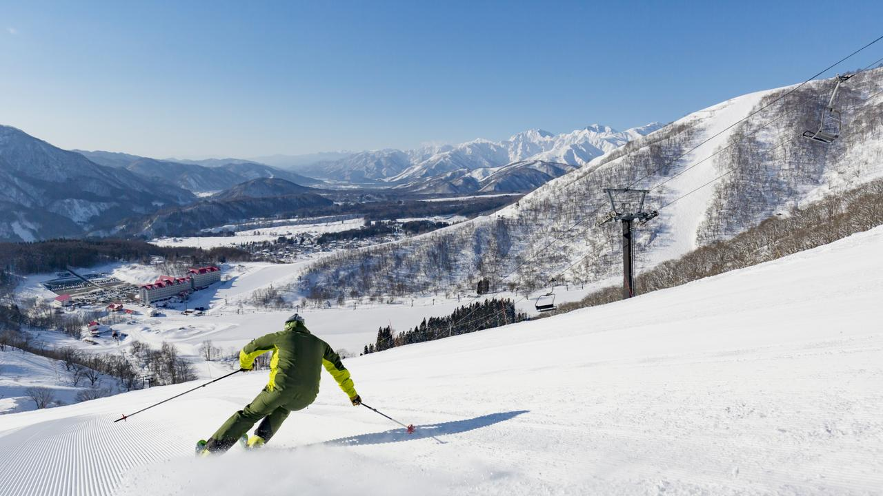 Hakuba Valley is newly part of the Vail Resorts Epic Pass that gives Australians some of the best deals to its ski resorts around the world. Picture: Vail Resorts