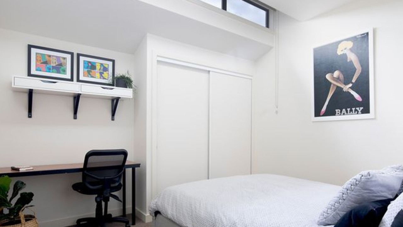 Mr Chisholm said there weren't many Collingwood apartments with three genuine bedrooms.