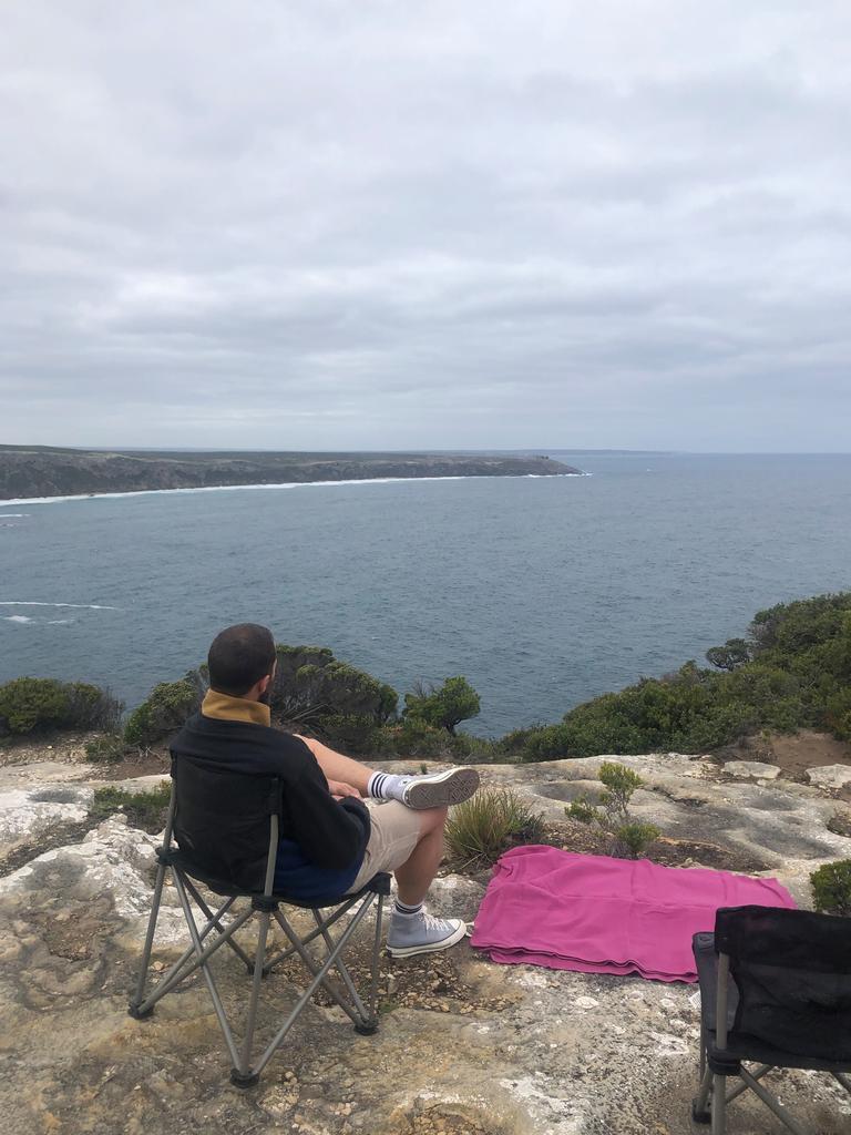 'It's such a beautiful place,' Dornan said of Kangaroo Island.