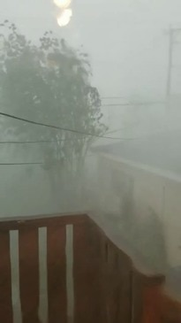 Powerful Wind and Rain Hit Joliet in Illinois After Tornado Warning Issued