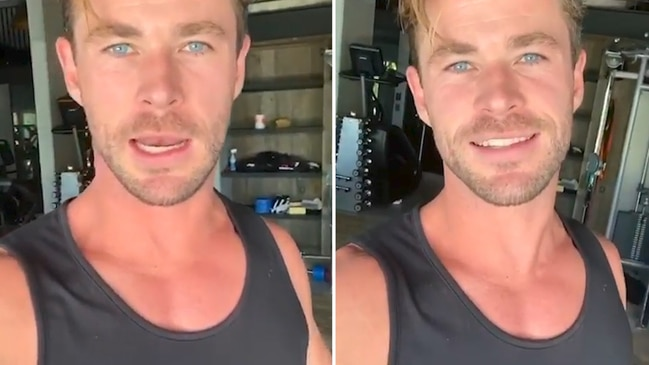 Chris Hemsworth announces Centr app free trial