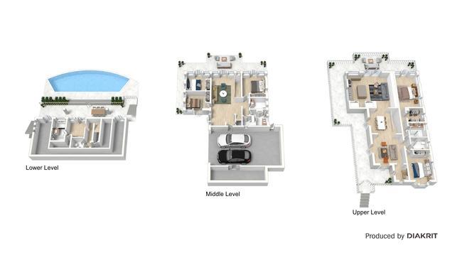 The floorplan for 87a Bank Rd, Graceville. Supplied: Diakrit.