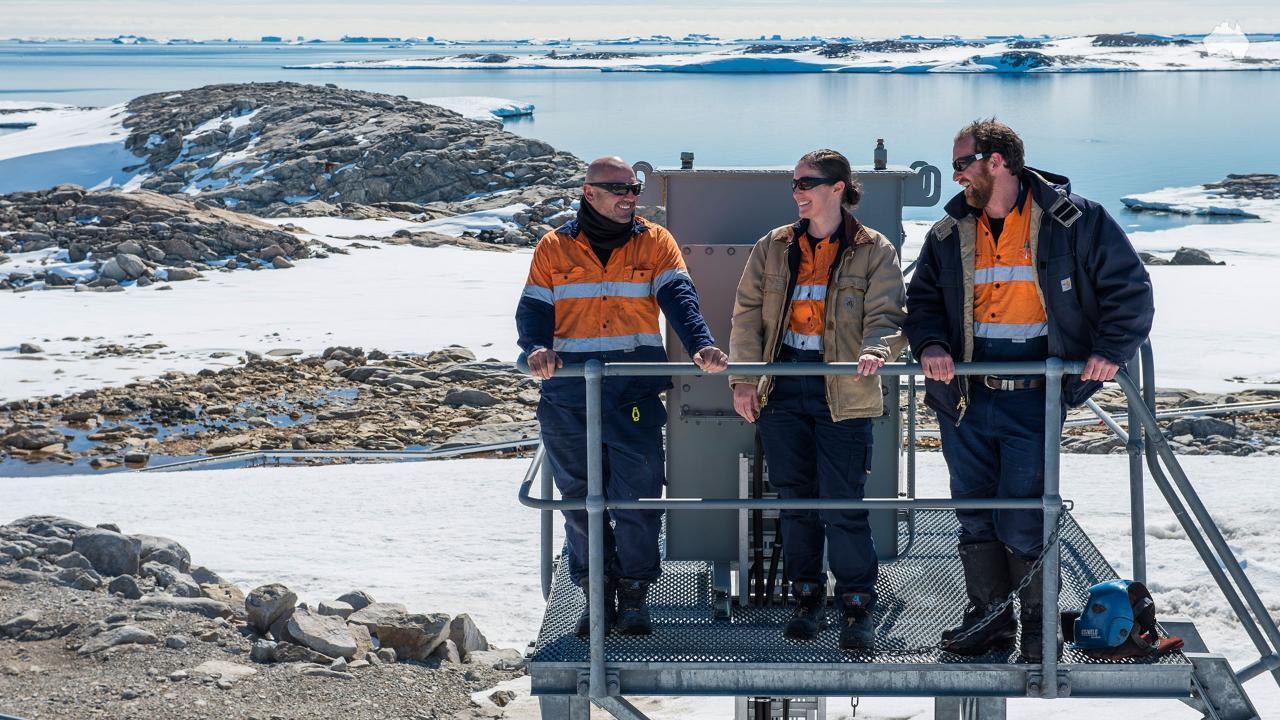 Aussie Tradies taking over Antarctica