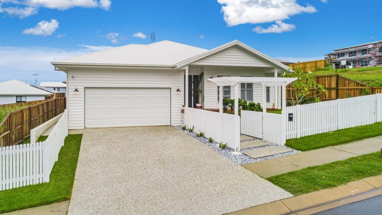 House prices in the Richmond-Tweed region of NSW jumped a massive 21.9 per cent over the 12 months to April 2021. The area includes the boom town of Byron Bay where the three-house price median is $2.25 million, but also Lennox Head where this home recently fetched $1.265 million. Picture: Supplied