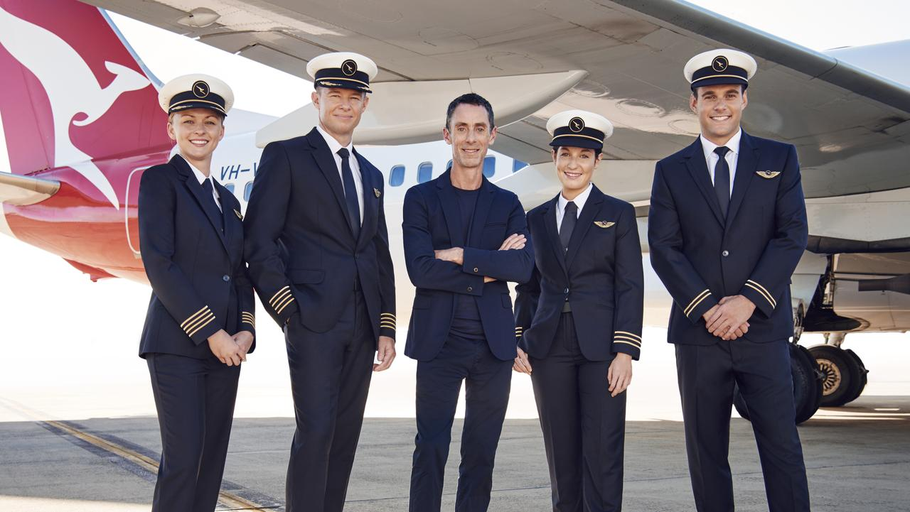 The new Qantas pilot uniform is modern with a link back to history.