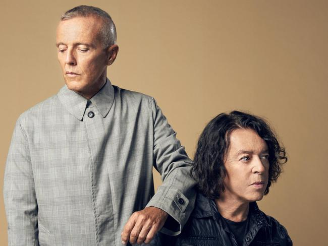 Curt Smith (left) and Roland Orzabal will release new music next year. Pic. EMI